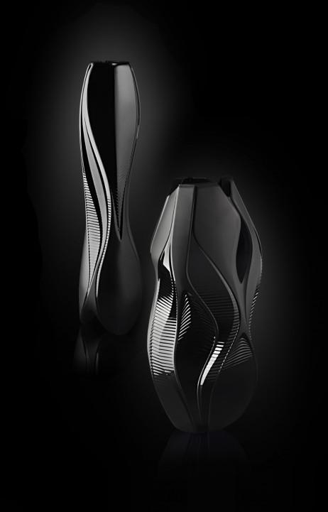Crystal Architecture Vase