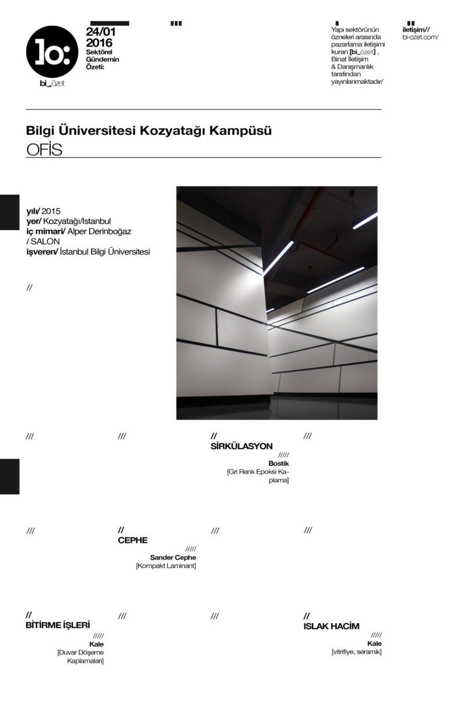 proje kartı