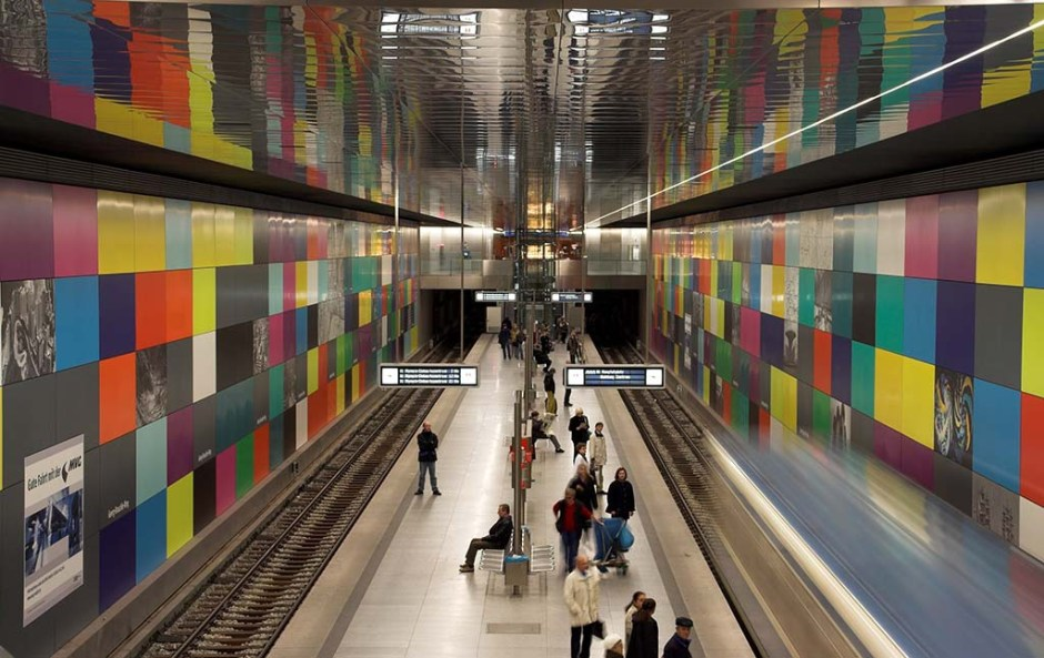 Subway station in Munich, Germany; Shutterstock ID 3266540