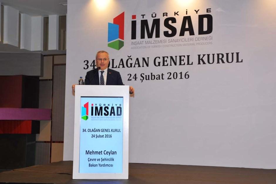 Çevre ve Şehircilik Bakan Yardımcısı Mehmet Ceylan