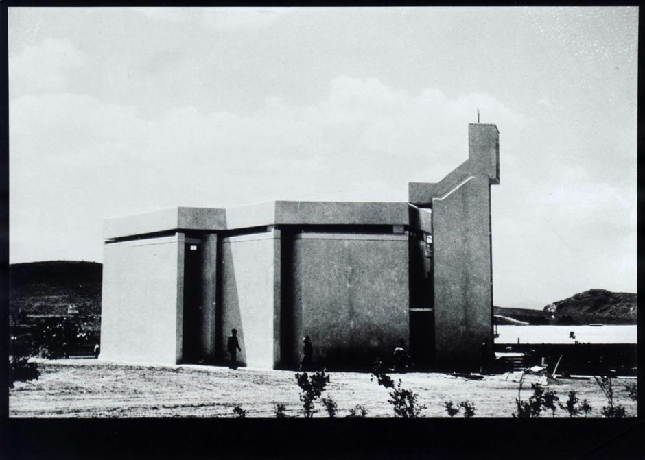Etimesgut Camii, Ankara (1965) Mimar: Cengiz Bektaş SALT Araştırma, Cengiz Bektaş Arşivi