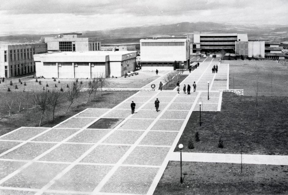 Orta Doğu Teknik Üniversitesi, Kampüs ve Yaya Allesi, 1970'ler SALT Araştırma, Altuğ-Behruz Çinici Arşivi