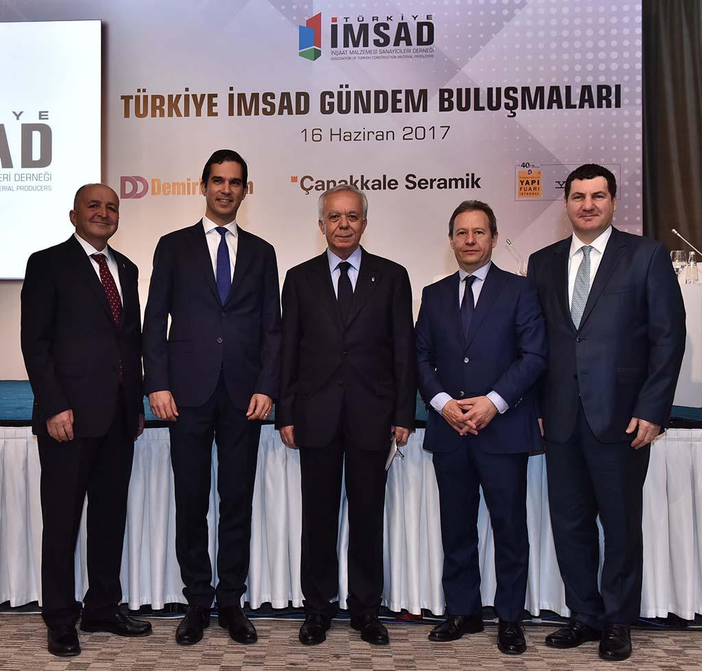 (Türkiye İMSAD) GÜNDEM BULUŞMALARI'nda sektörün geleceği konuşuldu!