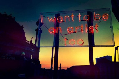 Jan Kuck, I want to be an artist too, 2015