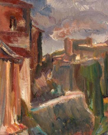David Bomberg, Cuenca, 1934. Courtesy Waterhouse & Dodd.
