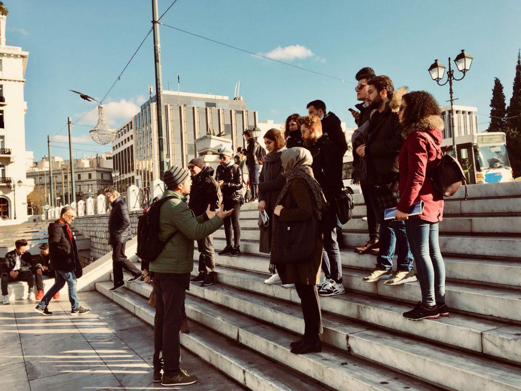 Mimarlık Öğrencileri ATİNA'yı (PETRA The Flooring Co.) ile Gezdi…