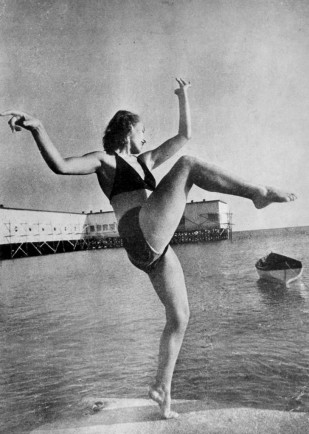 Florya Plajı, 1940'lar Gökhan Akçura Arşivi