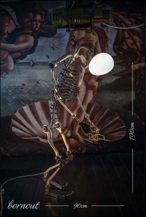 Senol Altun - Aydinlatan Heykeller Vol.II - Bornout 190x90 cm
