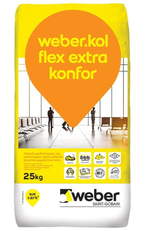 weber.kol flex extra konfor 25 kg