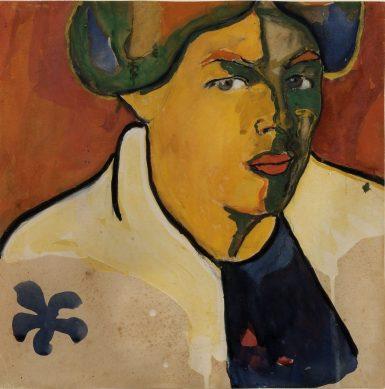 Kazimir Malevich (1879–1935) Kadın Portresi, 1910-1911 civarı