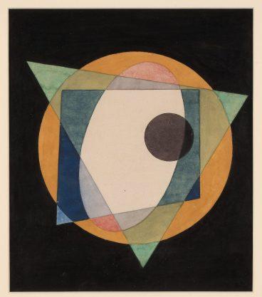 Ivan Kliun (1873-1943) Suprematist Kompozisyon, 1917 Ivan Kliun (1873-1943) Suprematist Kompozisyon, 1917
