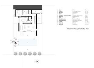 9_ Alt Zemin Kat Planı