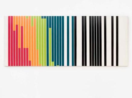 Mondrian'den Esinlenen Renkler Coğrafyası (Mavi Tonları) 1971