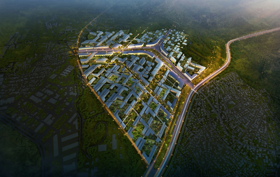 Green Hub Masterplan, Antalya, Turkey, 2015