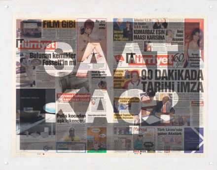 Cengiz Çekil- Saat Kaç?, 2008, Serigrafi (Fotoğraf: Hadiye Cangökçe)