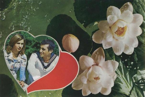 Müdahale Edilmiş Kartpostallar serisinden bir kartpostal, 1981