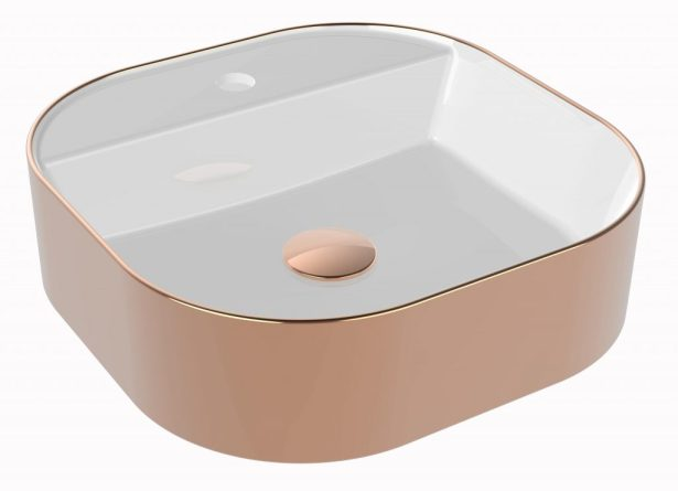 FLAME PVD LAVABO ROSE GOLD