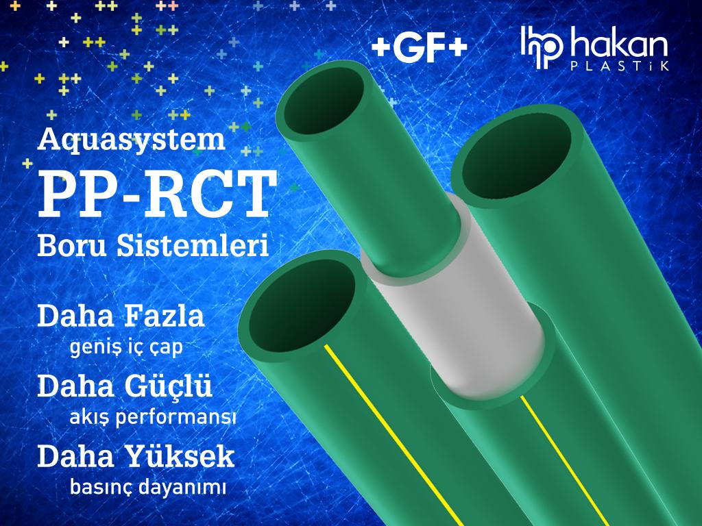 (GF Hakan Plastik)'ten PP-RCT Boru Sistemi…